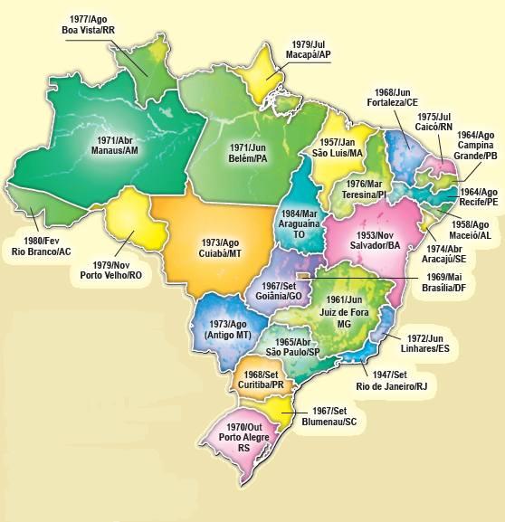 Mapa Alcoolicos anonimos